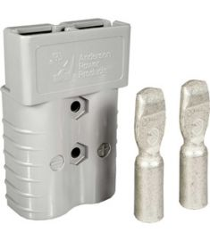 SB350 Grey 350 Amp Battery Connector 2/0 AWG Terminals