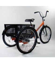 Worksman Mover(TM) Industrial 3 Speed Tricycle M2626-3CB